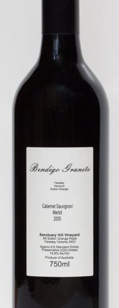 Bendigo Granite Cabernet Sauvignon / Merlot 2005 Bottle